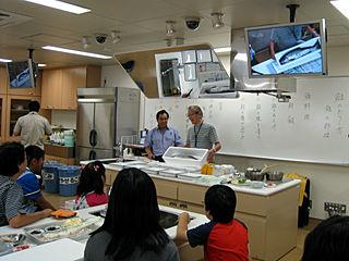 2008年のサケ教室より