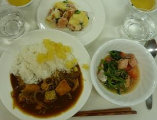 お料理3品