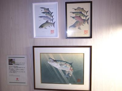 武内さんのボールペンアートコーナー