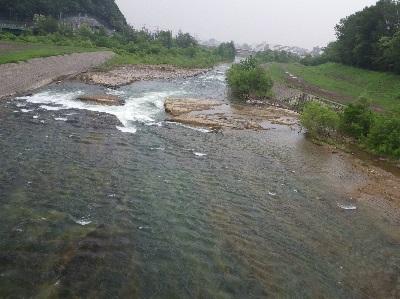通常時の豊平川