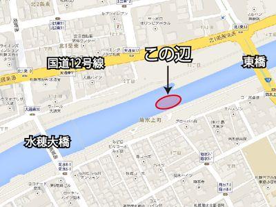 観察ポイント(地図)